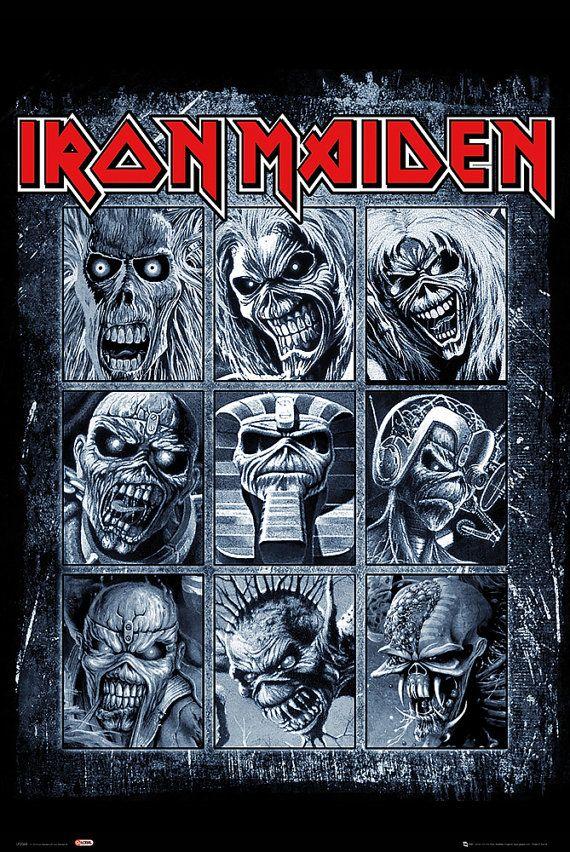 Iron Maiden - Eddie - Poster - envío gratis                                                                                                                                                                                 Más