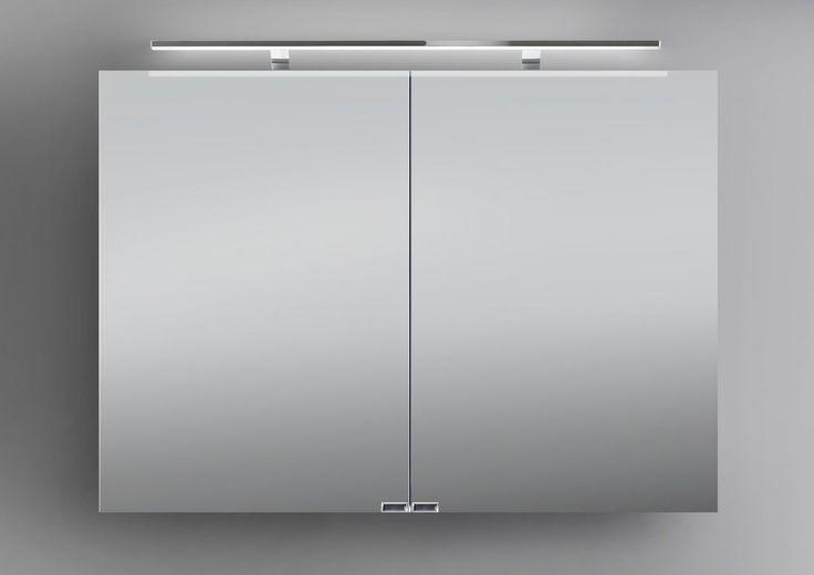 Spiegelschrank 100 cm LED Beleuchtung doppelseitig verspiegelt Jetzt bestellen unter: https://moebel.ladendirekt.de/bad/badmoebel/spiegelschraenke/?uid=a991cc47-da47-52d3-b755-ffde87d2c18b&utm_source=pinterest&utm_medium=pin&utm_campaign=boards #spiegelschraenke #spiegelschränke #bad #badmoebel