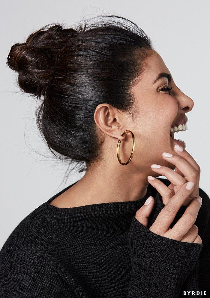"""The Globe Is My Stage"": Priyanka Chopra Isn't Crossing Over—She's Taking Over via @ByrdieBeauty"