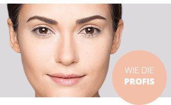 Gesicht konturieren mit Camouflage Make-up