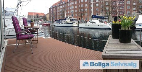 Strandgade 98, 1401 København K - Unik bolig på vandet #københavn #kbhk #husbåd #selvsalg #boligsalg
