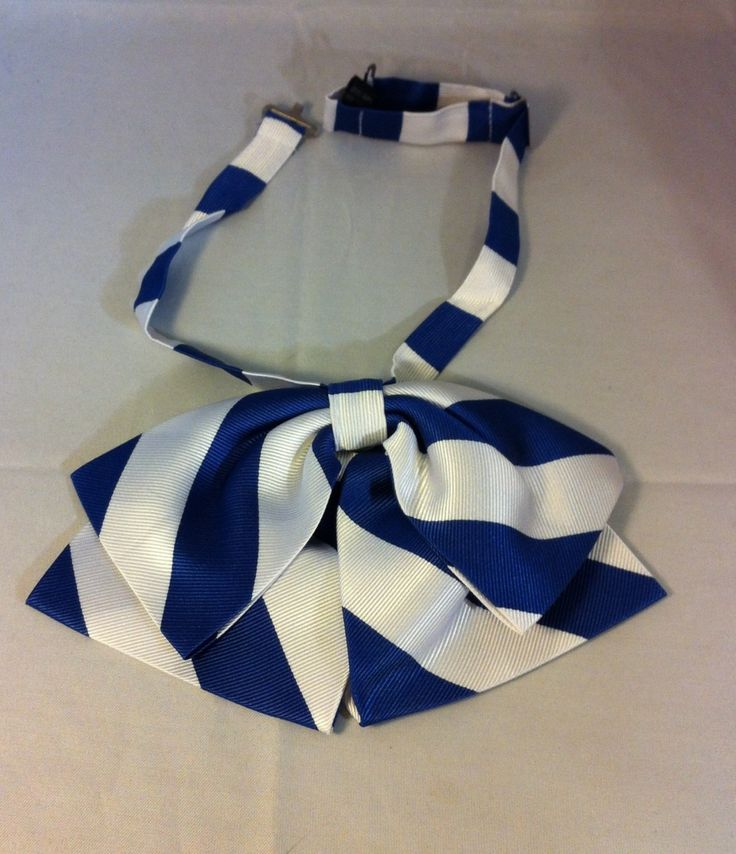 Brothers and Sisters' Greek Store - Zeta Phi Beta Sorority Blue and White Ladies Bow Tie , $19.95 (http://www.brothersandsistersgreekstore.com/zeta-phi-beta-sorority-blue-and-white-ladies-bow-tie/)