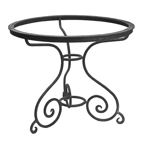 Round Volute Wrought Iron Coffee Table Pinterest Iron Furniture Iron And Wrought Iron