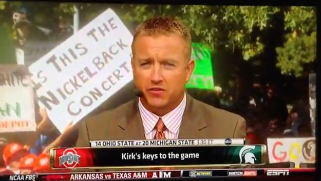 Thankfully … no … no it isn't. | The 14 Funniest Signs From College GameDay