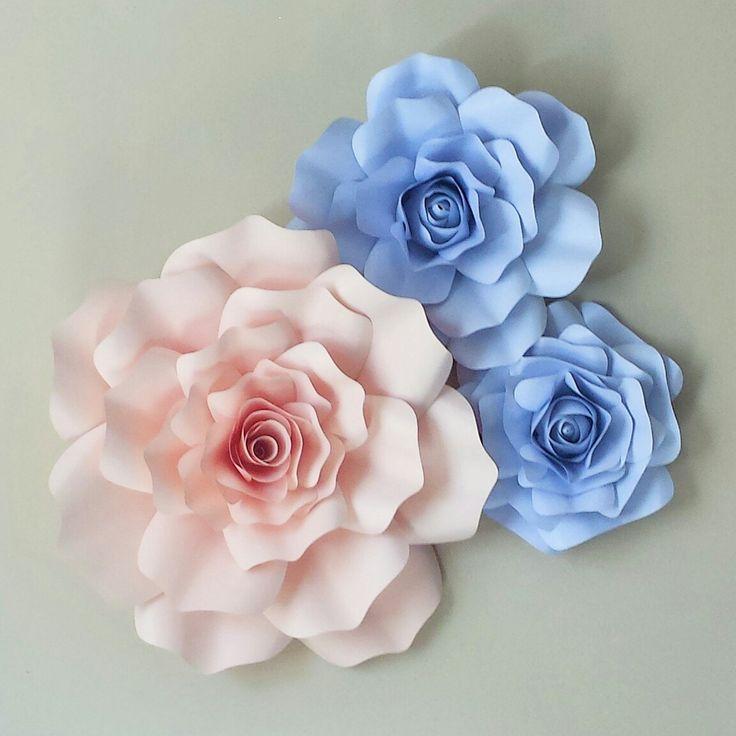 46 best paper flowers images on pinterest blush pink light rose giant 3d paper flower large paper flower accent paper flower nursery home decor mightylinksfo