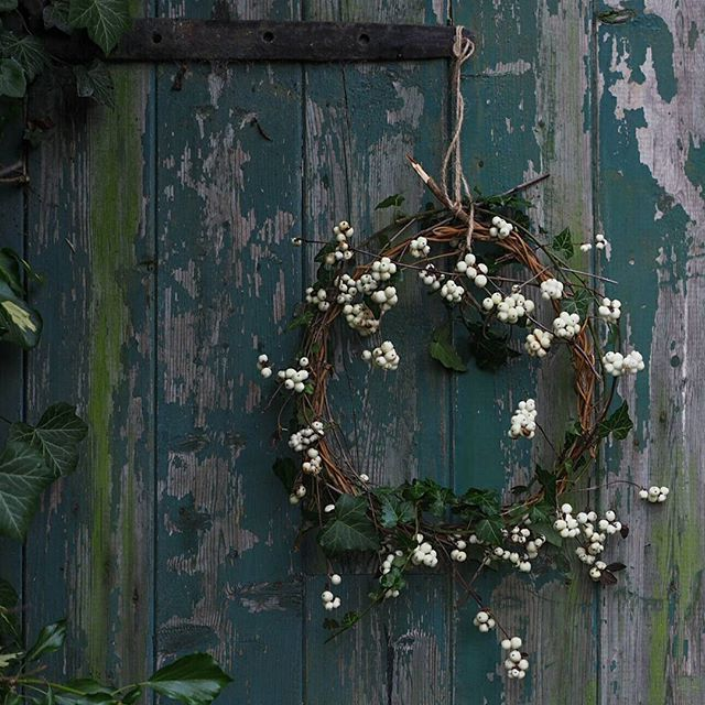 ※My weeks old snowberry wreath has definitely seen better days now #acottagewreath #thequietwinter #botanicaldreamers #anatural_midwinter #botanicalpickmeup #allthingsbotanical #botanicaldaydreams #botanicalcreativity_ #behomefree #gatherandcurate #aslowmoment #themidwintermovement #ofsimplethings #botanicalforagersunitedsocietyinc
