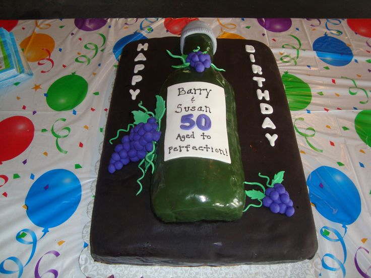 50th Birthday Cake This Was A Cake For A Husband And