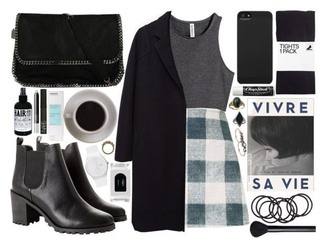 """""""vivre sa vie"""" by velvet-ears ❤ liked on Polyvore featuring H&M, Motel, The Row, STELLA McCARTNEY, Monki, The Criterion Collection, Incase, Chapstick, Gypsy and Bunn"""