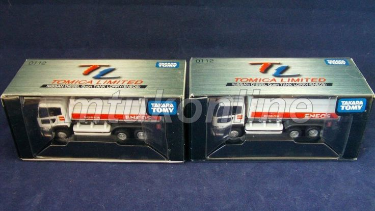TOMICA TL 112 | NISSAN DIESEL QUON TANKER | ENEOS | ST 2009 BOX | SELL AS LOT