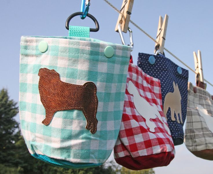Taschen & Beutel - Futterbeutel nach Wunsch mit Lieblings Hunderasse - ein Designerstück von retronellaDOGS bei DaWanda