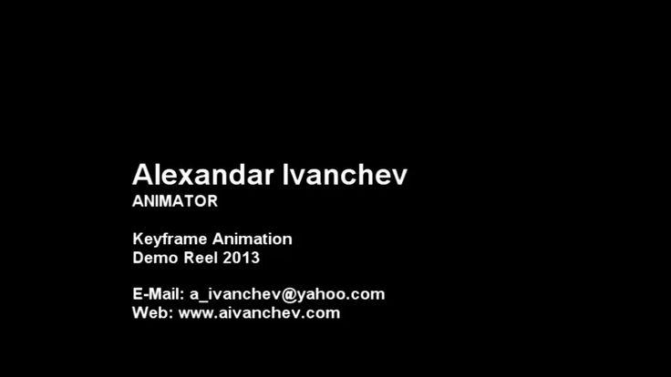 Demo Reel February 2013 on Vimeo