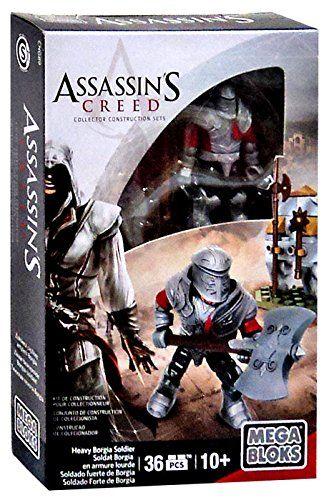 Mega Bloks Assassin's Creed Heavy Borgia Soldier Figure Set