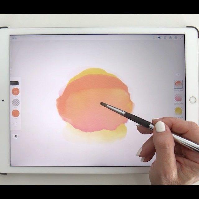 Lettering And Watercolor Tutorials Watercolour Tutorials Ipad