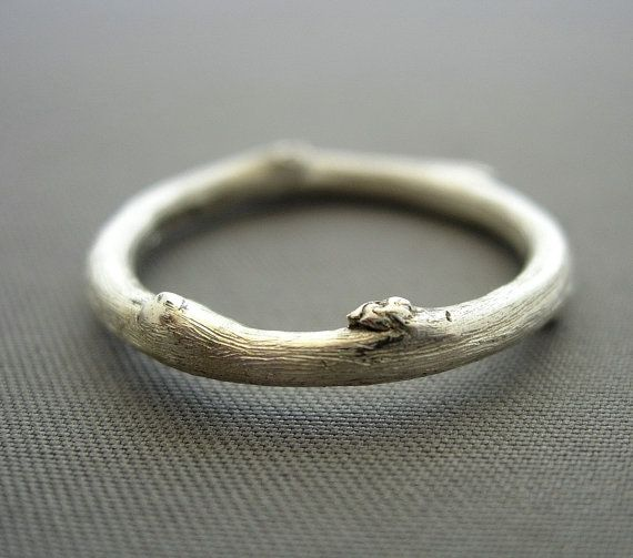 Silver Twig ring. I love this but the only downside is that you can't stack it without gaps :(