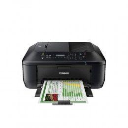 Impresora de inyección de tinta multifunción Canon PIXMA MX475 – Color – Impresión fotográfica – De Escritorio – Copiadora/Fax/Impresora/Escáner – 9,7 ipm Mono/5,5 ipm Impresión en color (ISO) – 46 Segundo Foto – 4800 × 1200 dpi Impresión ipm Mono/4,7 ppm Copia en color (ISO) LCD – 1200 ppp Escaneo ópticoDuplex Print Manual – 100 hojas Entrada – LAN inalámbrica – USB