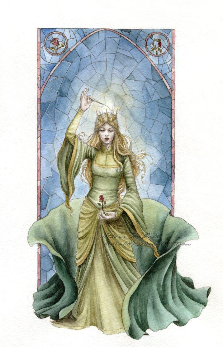 The Enchantress (Beauty and the Beast).Disney Princess. creative. Fan art. beautiful. Fashion. Diva. #ForeverEileen
