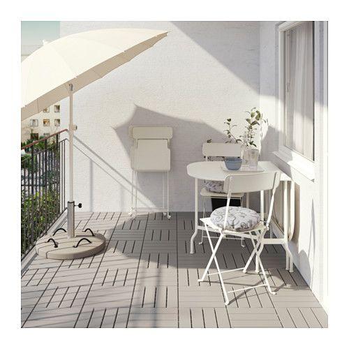 SALTHOLMEN Tafel+2 klapstoelen, buiten  - IKEA