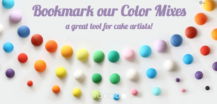 Be sure to bookmark the Satin Ice Color Mixes - they are an amazing tool for mixing colors.