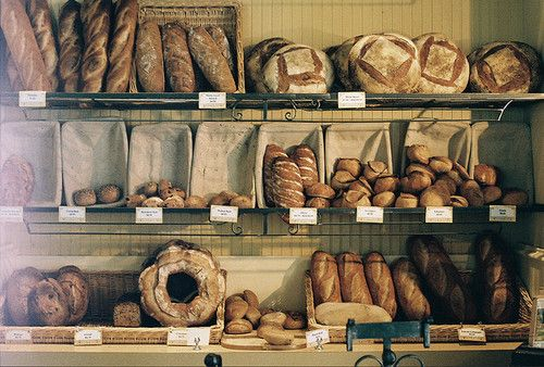 Bakery - bread display