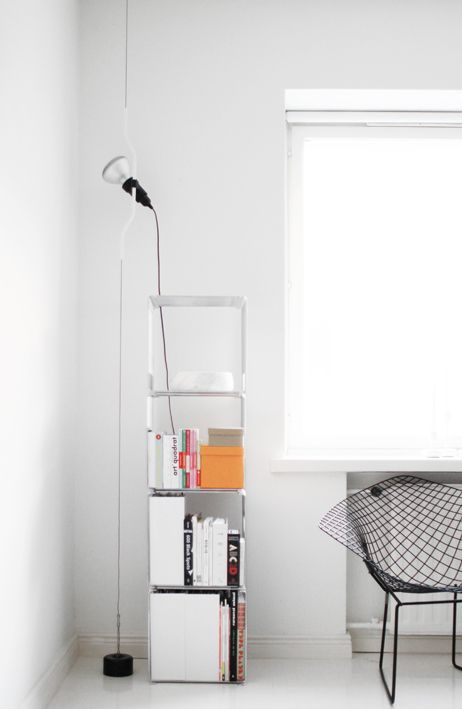 Flos Parentesi Lamp (http://www.nest.co.uk/browse/brand/flos/flos-parentesi-lamp) via RIAZZOLI.