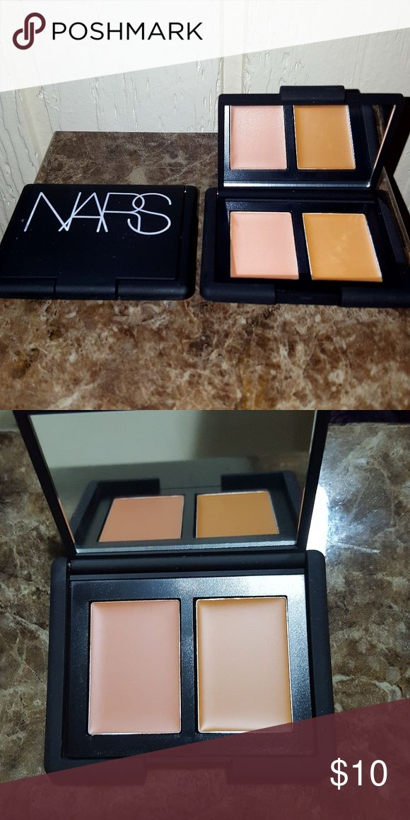 NARS Concealer, Praline/Toffee Brand new, never used. One opened for pics.  PLEASE READ: This is comparable to MAC NW40 concealer when applied together. I absolutely love NARS Praline/Toffee.  Praline/Toffee - Medium to dark complexions  This Duo concealer from Nars contains two uniquely paired colour combinations. Worn together or alone, all duo concealers can be applied sheer or built up for a more dramatic effect.  This Duo can be used as concealer, highlighting, and contouring; wet or…