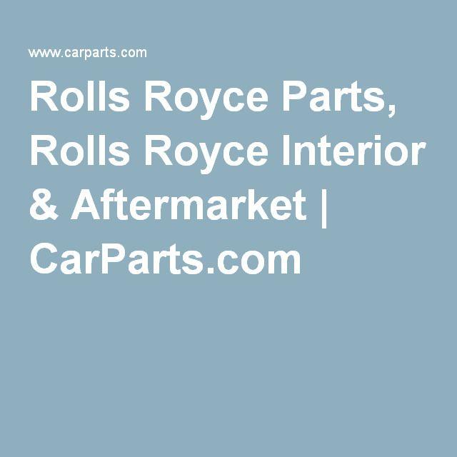 Rolls Royce Parts, Rolls Royce Interior & Aftermarket | CarParts.com