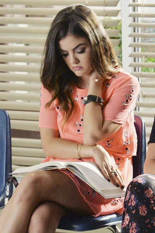 Aria Montgomery - 5x19 | 'Out, Damned Spot'