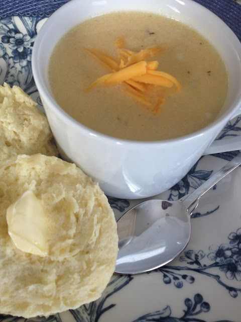 Take Six: Cauliflower Cheese Soup