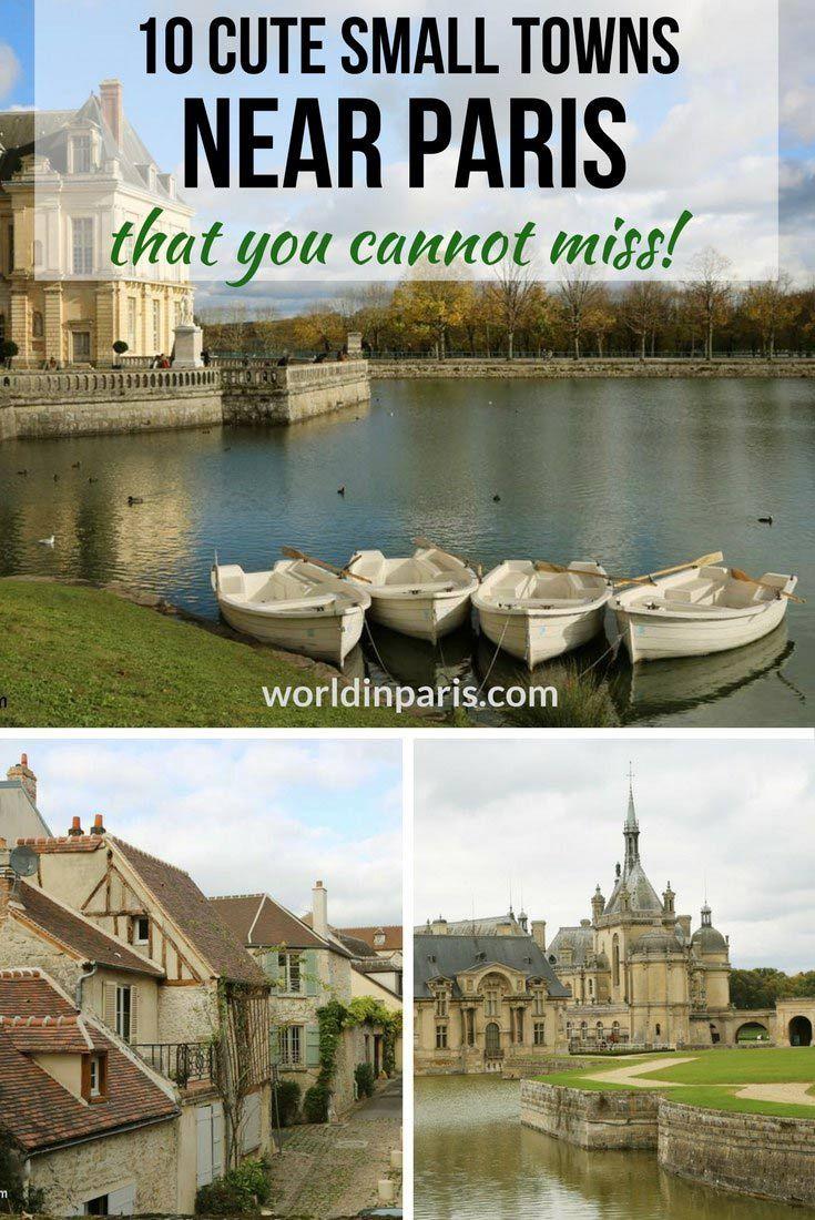 Paris Day Tours, Small Towns near Paris, Day Trips from Paris by Train, France Travel, #parisdaytrips #exploringfrance #paris #france