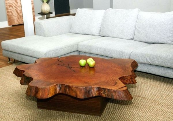 Table Réaliser Basse Tronc À D'arbreProjet Diy Simple erxWQCodB
