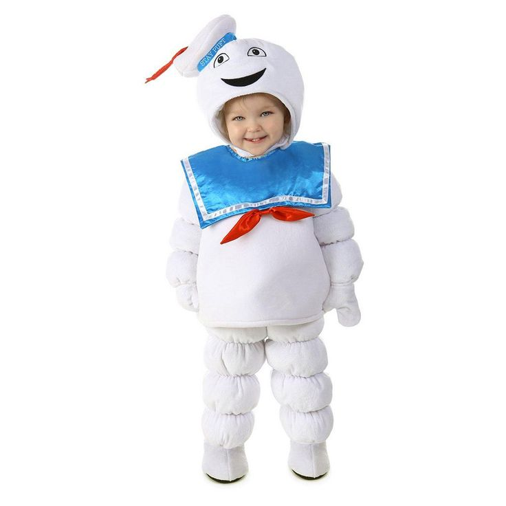 Ghostbusters Stay Puft Marshmallow Man Costume - Baby, Size: 12-18MONTH, Multicolor