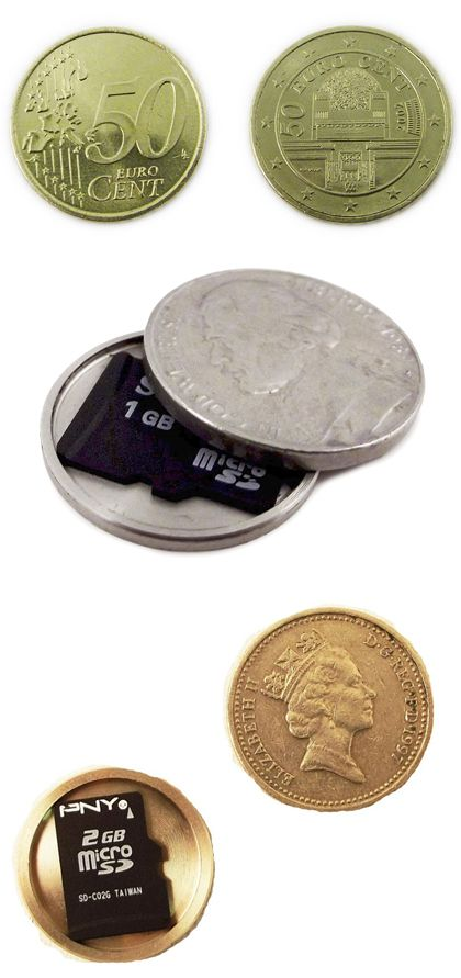 Covert Spy Coin - Writing inspiration #props  #nanowrimo #oyan http://KoolGadgetz.com