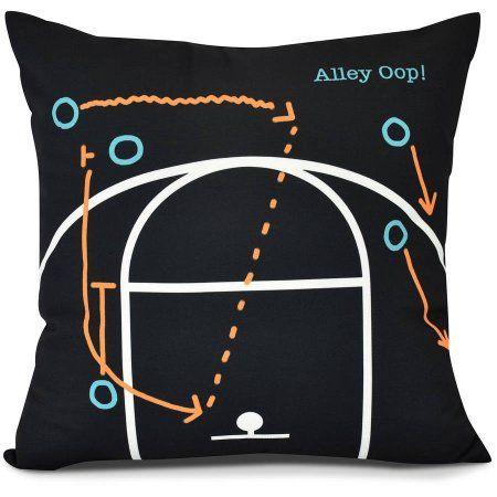Alley Oop! Geometric Print Pillow, Red