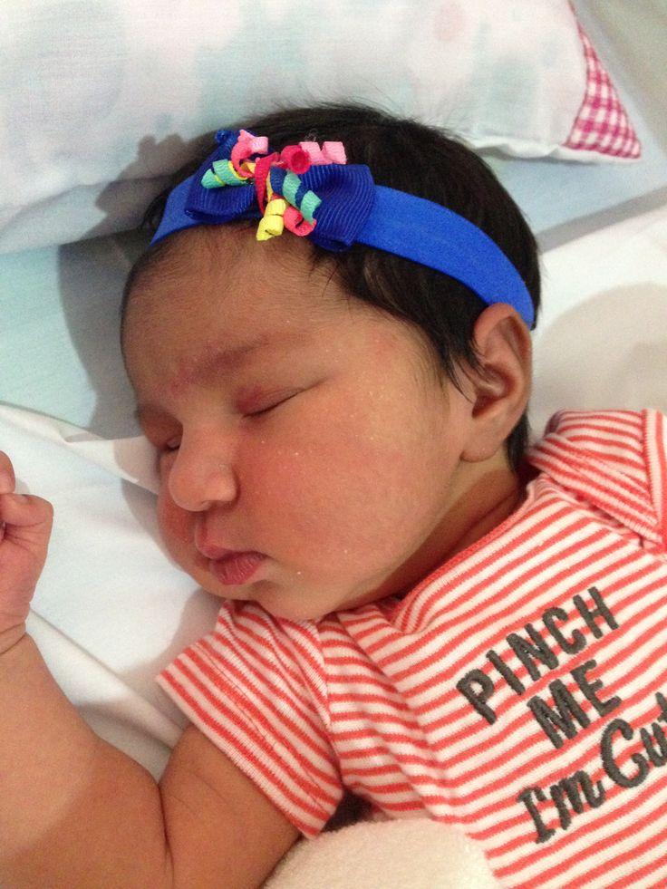 Mi nieta hermosa. Mi Gabriela.