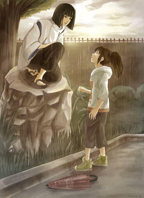 .: Not Them Miyazaki, Spirited Away, Pretty Girls, Fans Art, Spirit Away, Beautiful Artworks, Photo, Studios Ghibli, Fanart