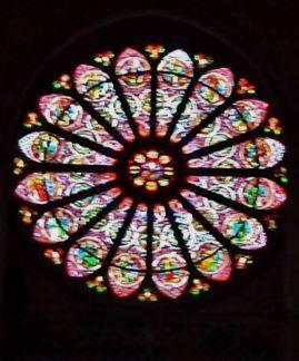 Basilique St. Remi Rose Window