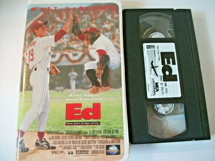 Ed vhs 1996 clamshell clamshell vhs clam shell