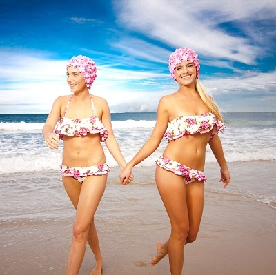 Every week can boast bona fide brilliance. Granted, it may gush down one day – but the next is often guaranteed glorious.  For this reason, swimwear should always be within reach and never banished to the back of the stack.  Available from Young Designers Market at the 'Saucy Rose'  stall.