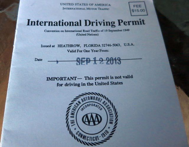 FAQ: Do I Need an International Driving Permit to Drive in Italy?: International Driving Permit