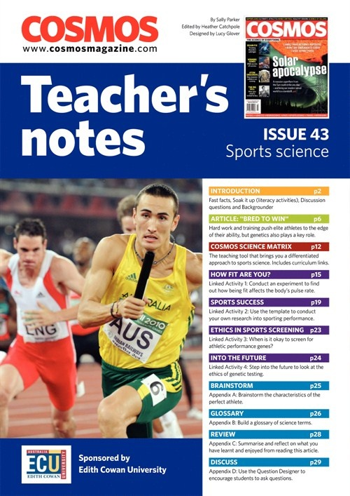 Teachers Notes INT : Issue 43, Sports Science