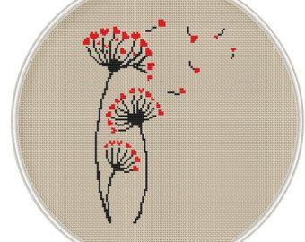 Bird and birdhouse Сross stitch pattern by MagicCrossStitch