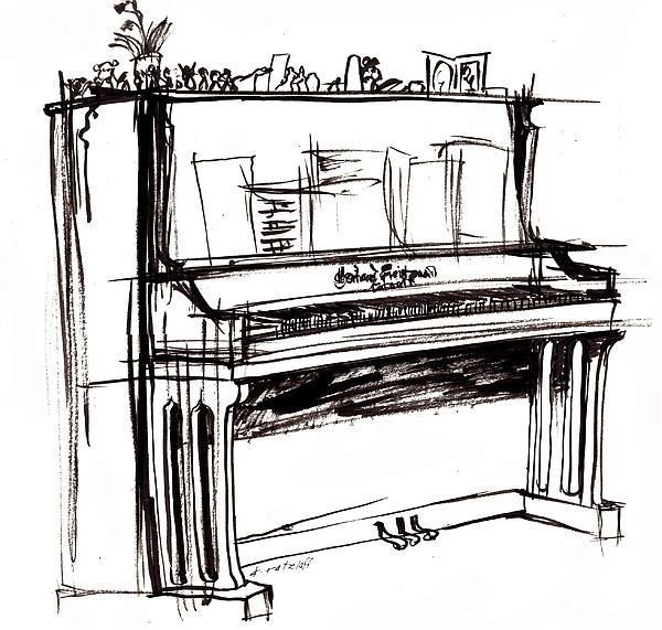 piano tattoo acoustic