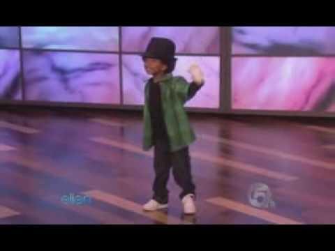 Young hip hop dancer on Ellen Show