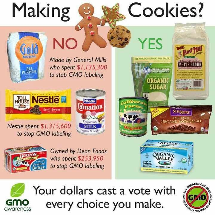 No GMO's in my cookies!