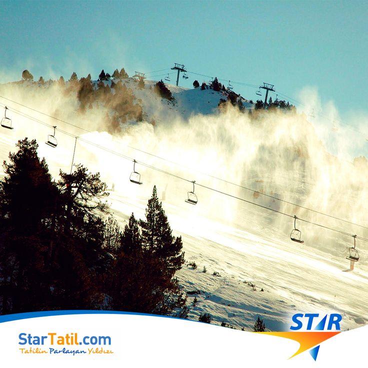 #Kartalkaya'da Sezon 2016 Kış sezonu açıldı! Star'la #Dorukkaya'daki yerini almaya hazır mısın?  #Kartalkaya Turları'nda tek #pist, iki #muhteşem otel #Star'da!