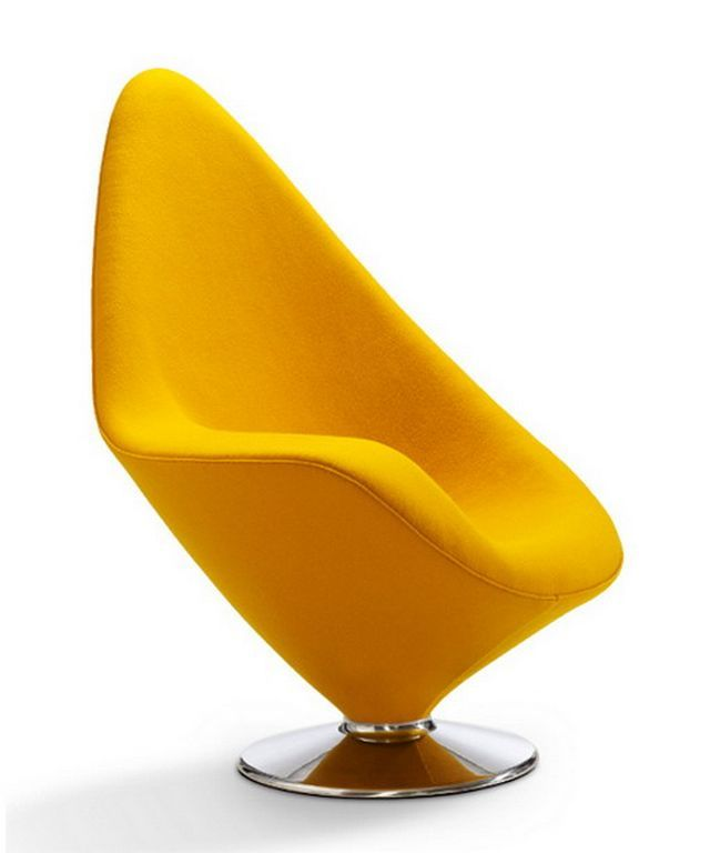 Yellow Accent Chairs For Living Room In Contemporary Design ...