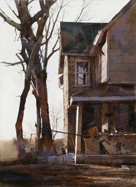 Dean Mitchell (b. 1957, USA) watercolor.