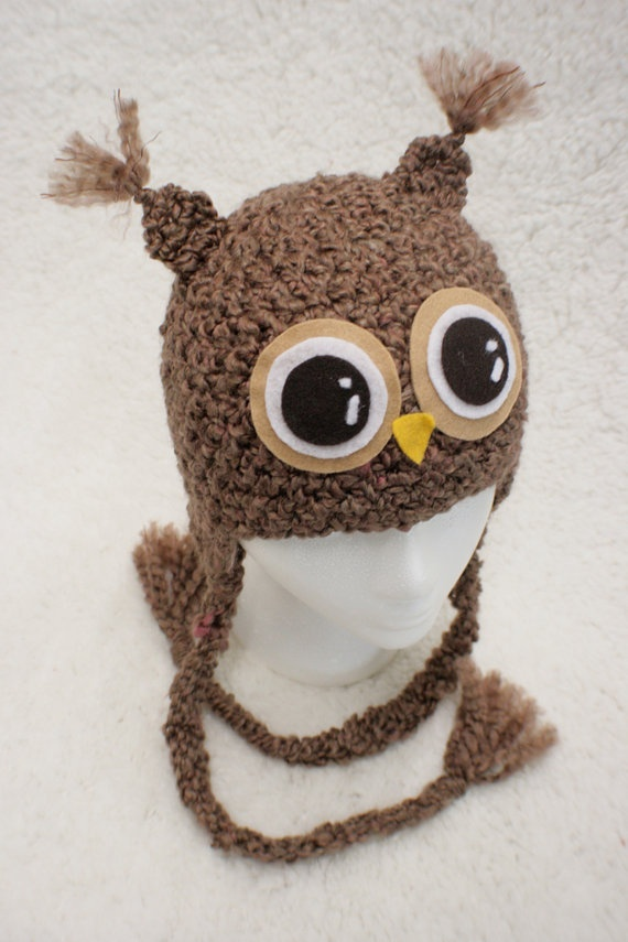 owl hat: Shower Ideas, Crochet Projects, Halloween Costumes, Things Owl, Adorb Owl, Beanie Hats, Owl Hats, Halloween Ideas, Beanies Hats