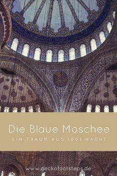 Die Blaue Moschee in Istanbul verzaubert durch ihre kuppelartige Form und eine Innendekoration aus tausenden von blauen Kacheln. Ein Traum aus 1001 Nacht.