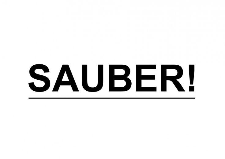 Sauber! | Statements | Echte Postkarten online versenden | MyPostcard.com